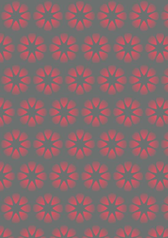 étoiles rouges sur fond gris
