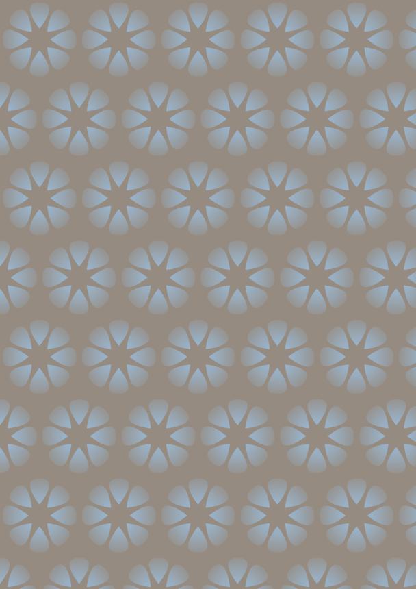 fleurs bleu ciel sur fond brun