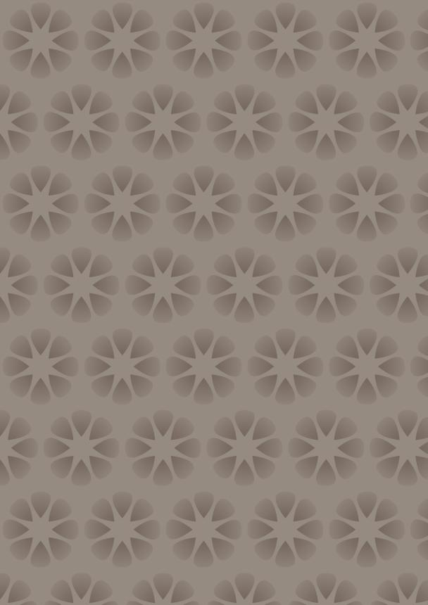 fleurs brun foncé sur fond brun