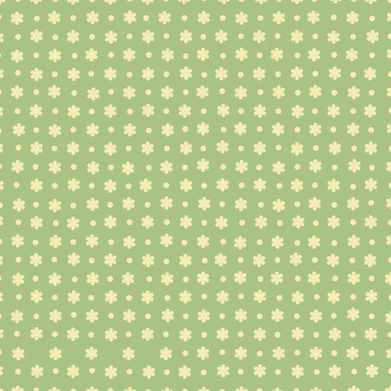 fleurs jaunes sur vert