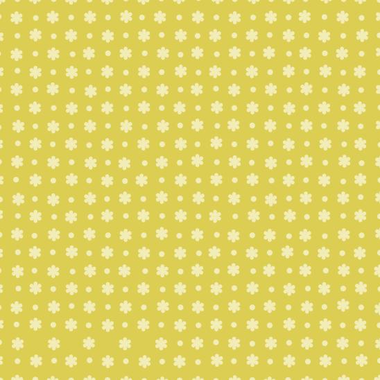 fleurs vertes et jaunes