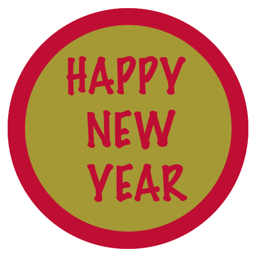 HAPPY NEW YEAR ROUGE OR