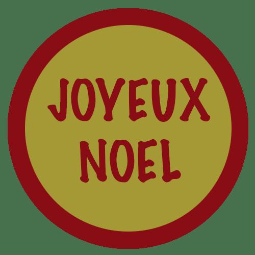 JOYEUX NOEL OR BORDEAUX