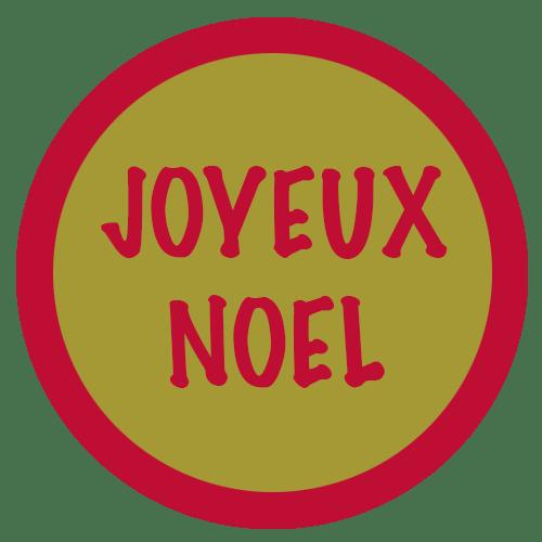 JOYEUX NOEL ROUGE OR