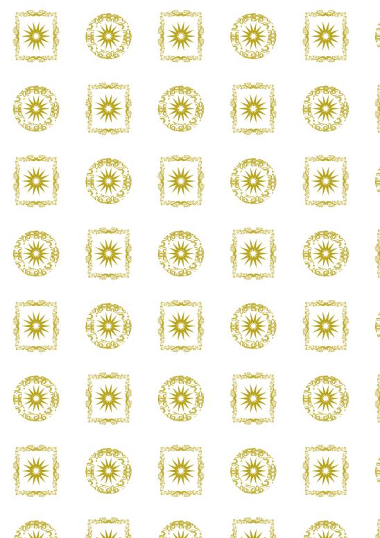 noel blanc doré
