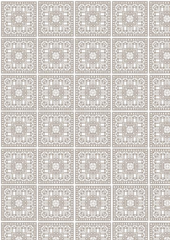 papier héritage brun sur blanc