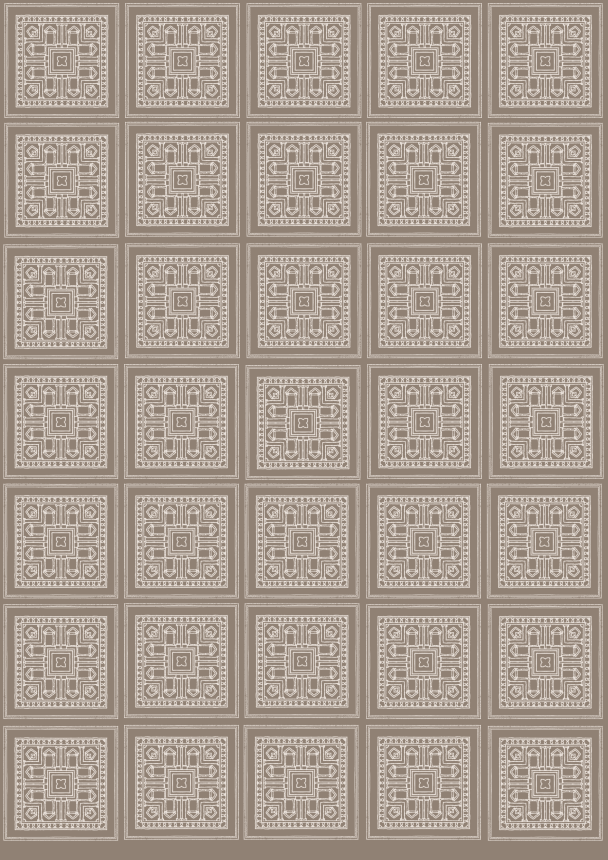 papier heritage beige sur brun