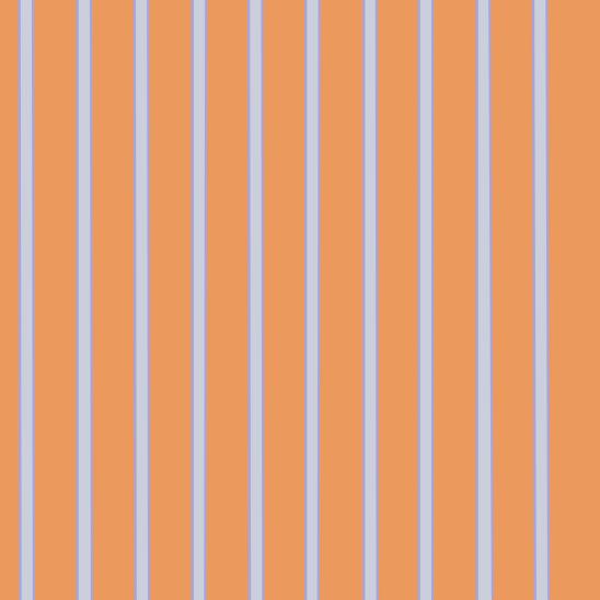 rayures bleu ciel sur fond orange