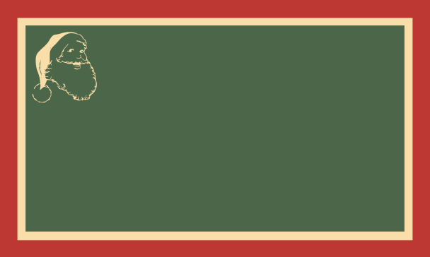 étiq rouge beige vert