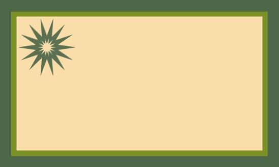 étiq vert vert beige