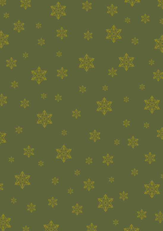 étoiles or sur vert moyen