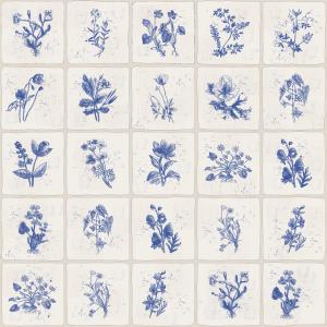 carreaux Delft fleurs