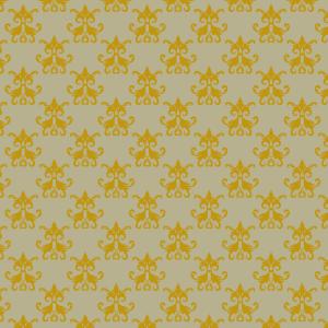 damas jaune sur vert