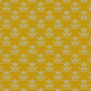 damas vert sur jaune