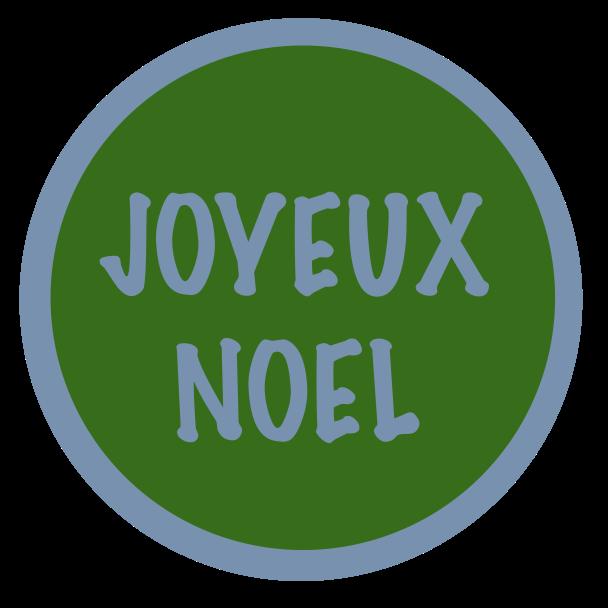joyeux noel bleu vert