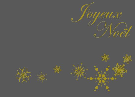 Joyeux Noel gris or