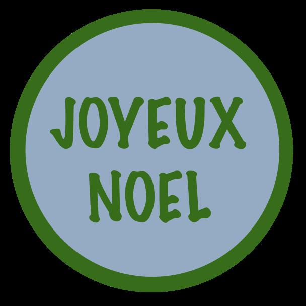joyeux noel vert bleu