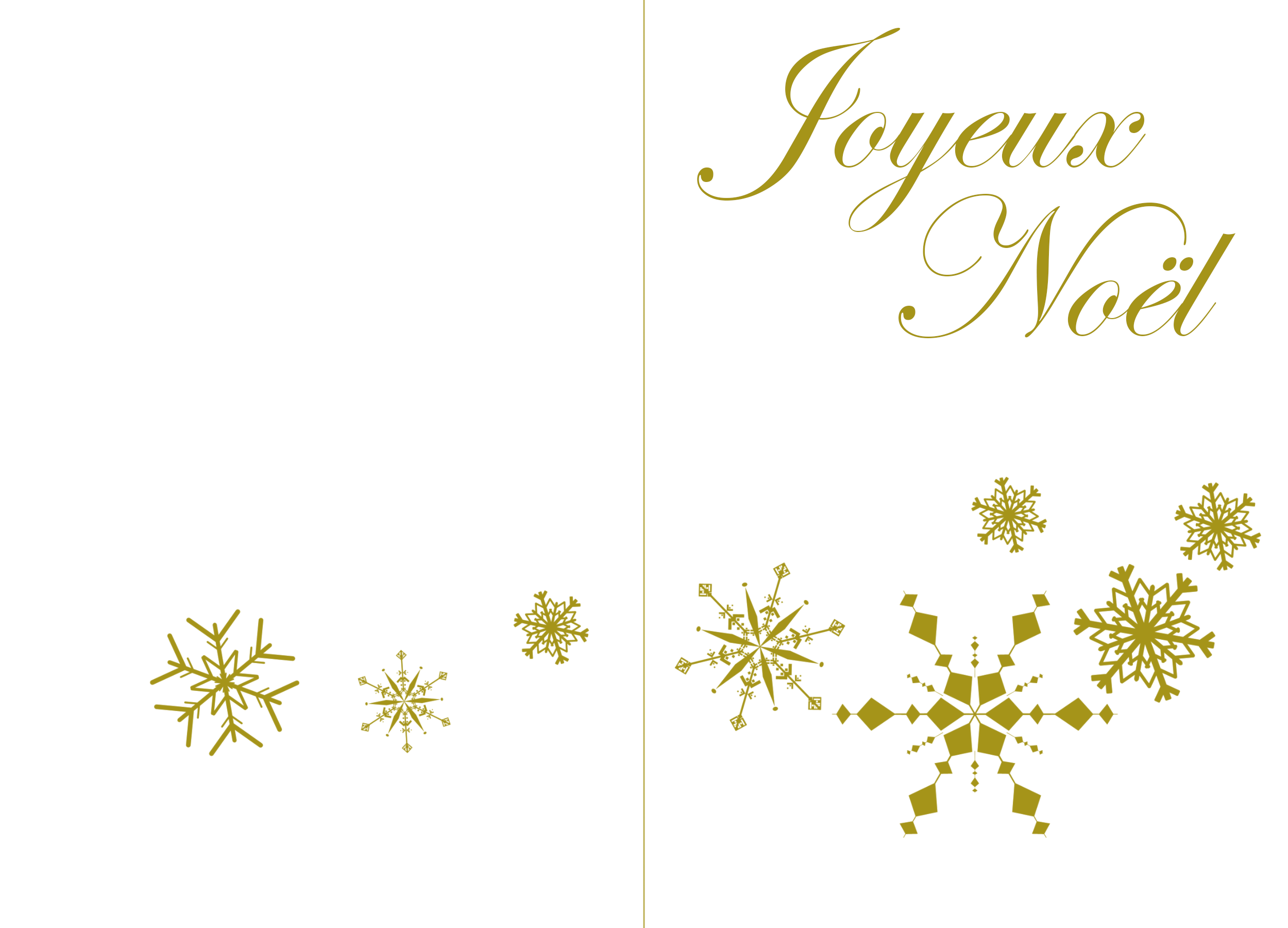 menu de Noël | BABANEW