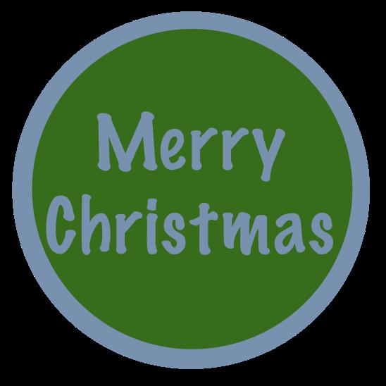 merry christmas bleu vert
