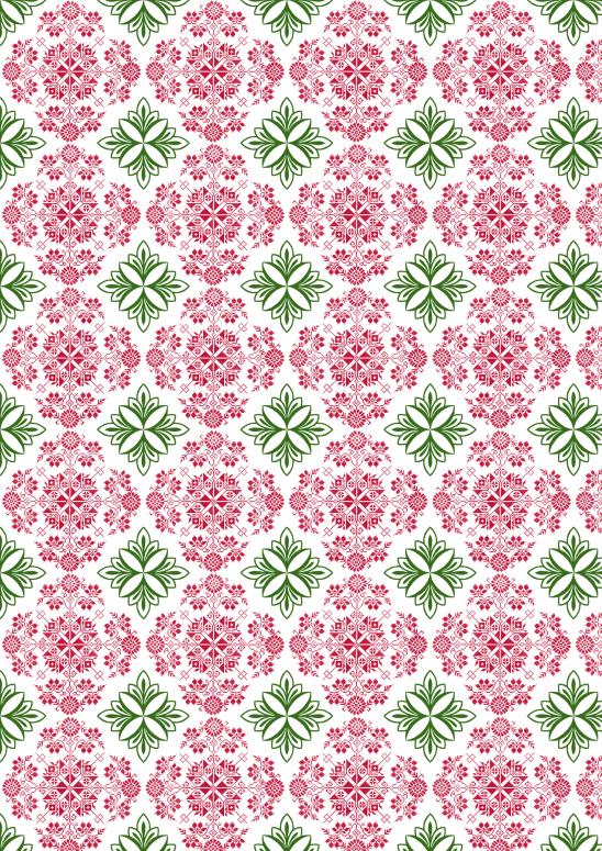 noel vert rouge blanc7