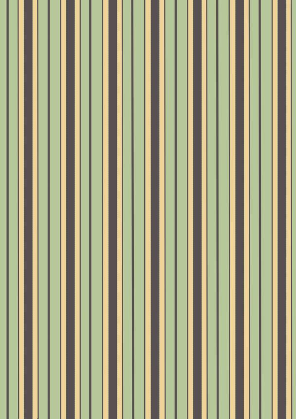 retro vert jaune brun9