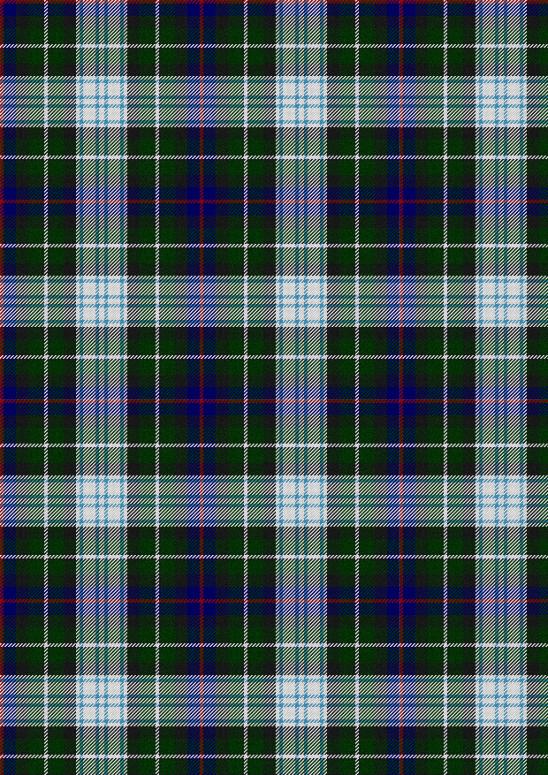 écossais bleu vert blanc