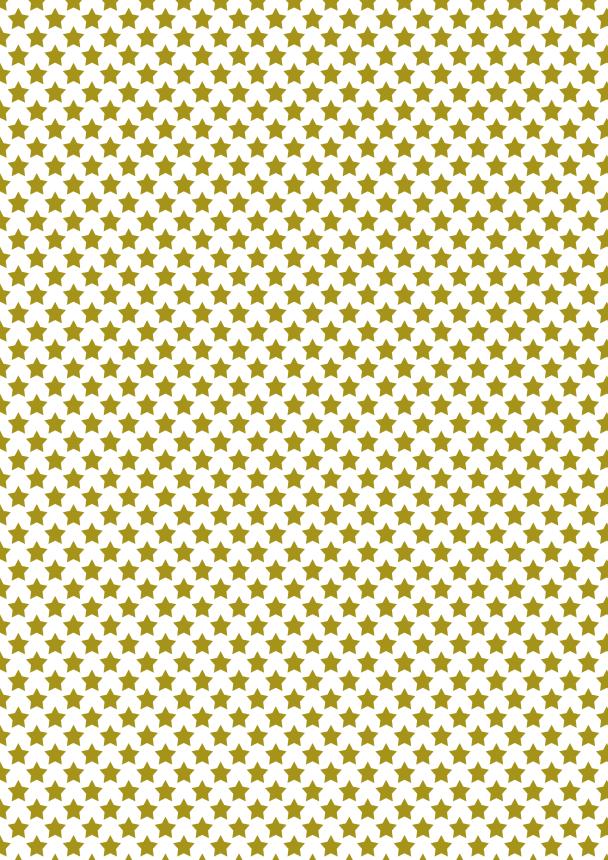 étoiles dorées moyennes