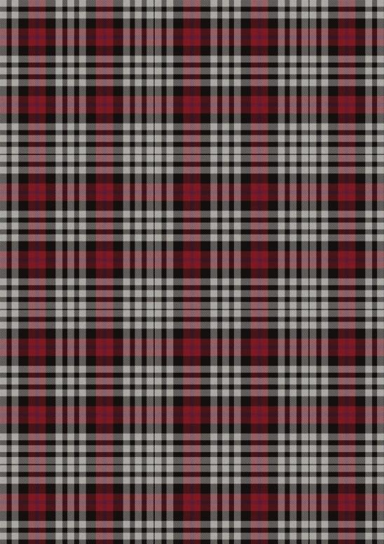 ecossais noir blanc rougeA4
