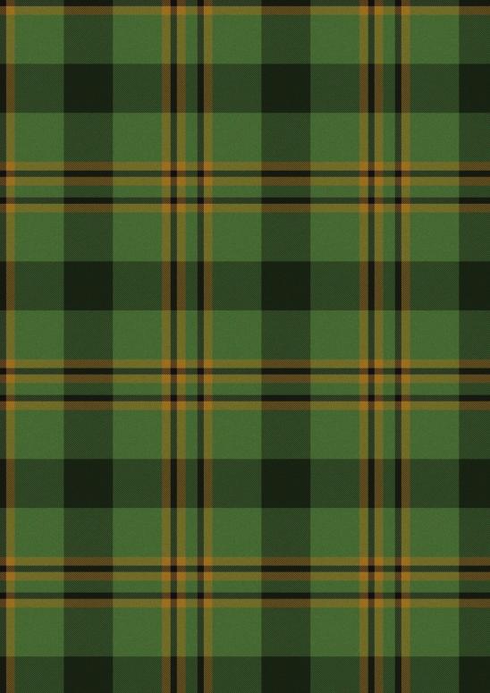 ecossais vert et jaune