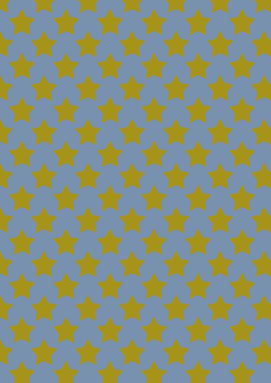 gd ét dorées sur bleu