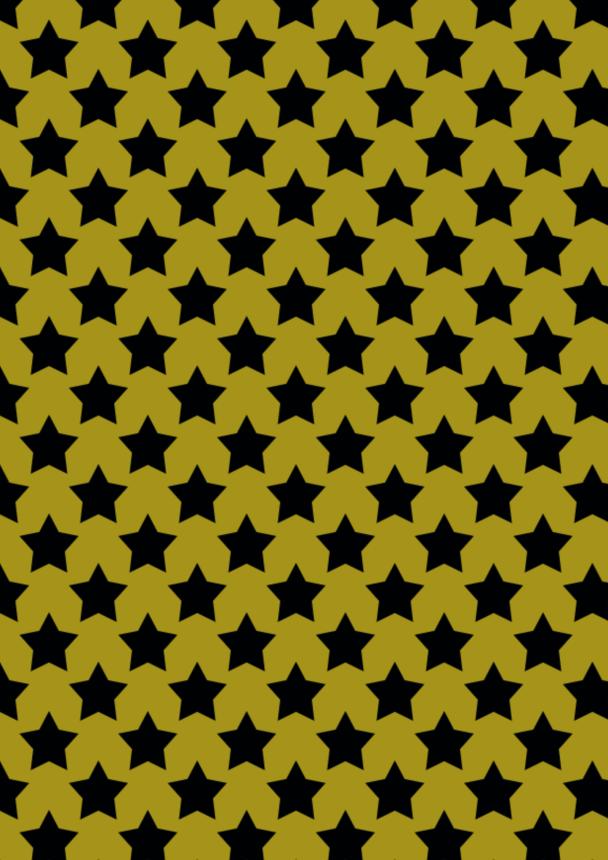 gd étoiles noires sur doré