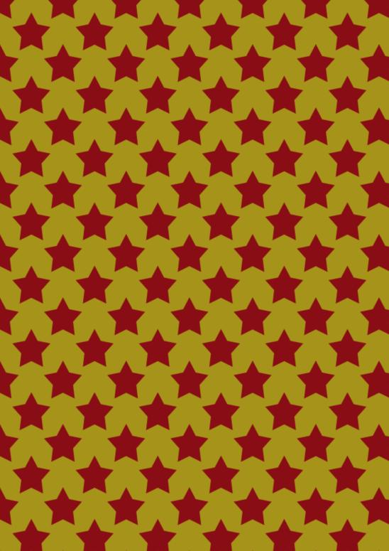gd étoiles rouges sur doré