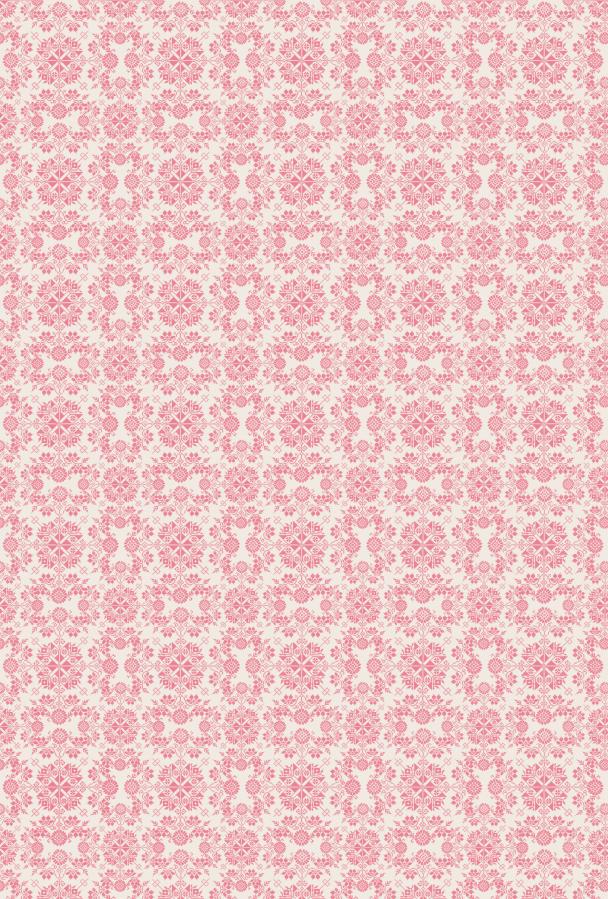 heritage rose sur blanc