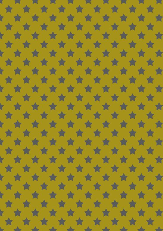 papier doré étoiles grises