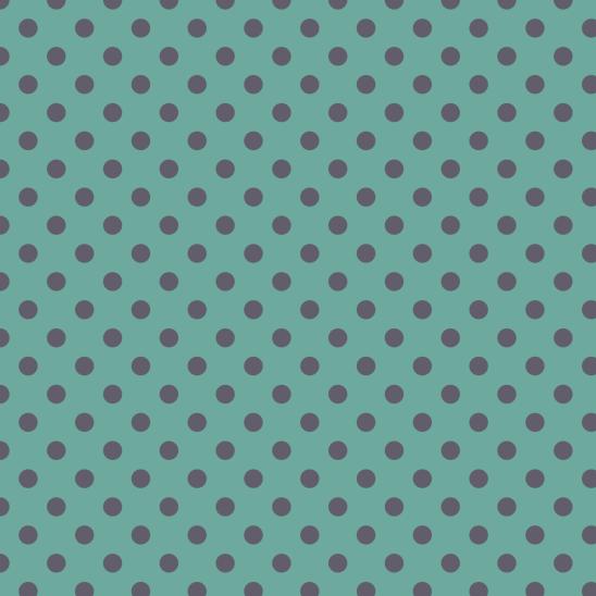 pois gris sur vert