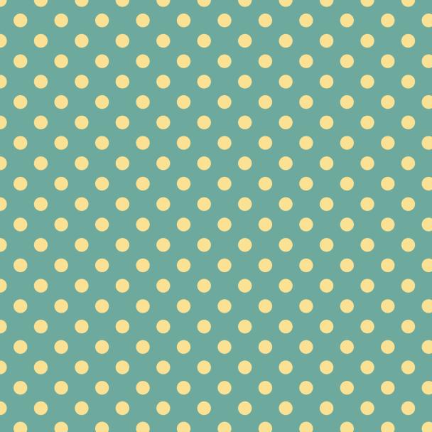 pois jaune sur vert