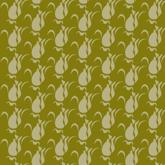 bulbes vert clair sur vert foncé