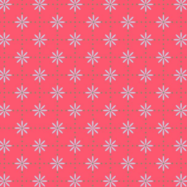 fleurs bleues sur fushia copie