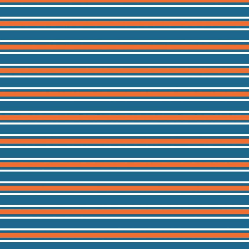 ligné sur bleu