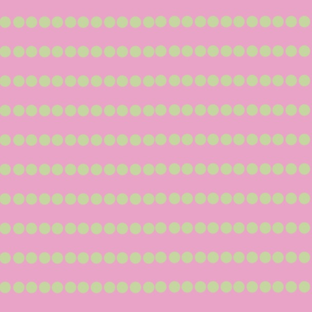 lignes rondes rose vert