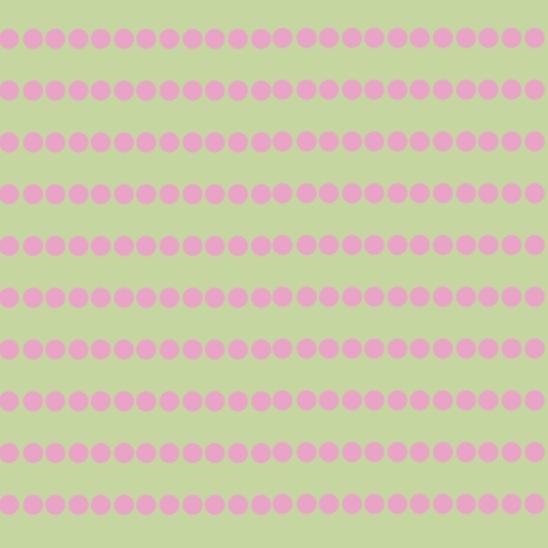 lignes rondes vert rose