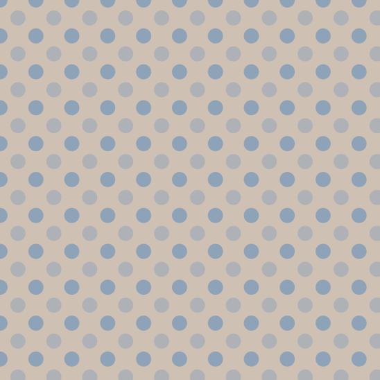 pois bleus sur beige