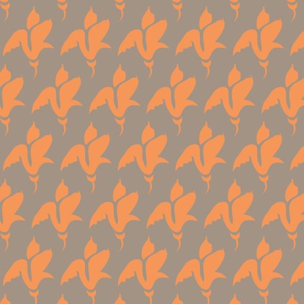 tulipe sur orange