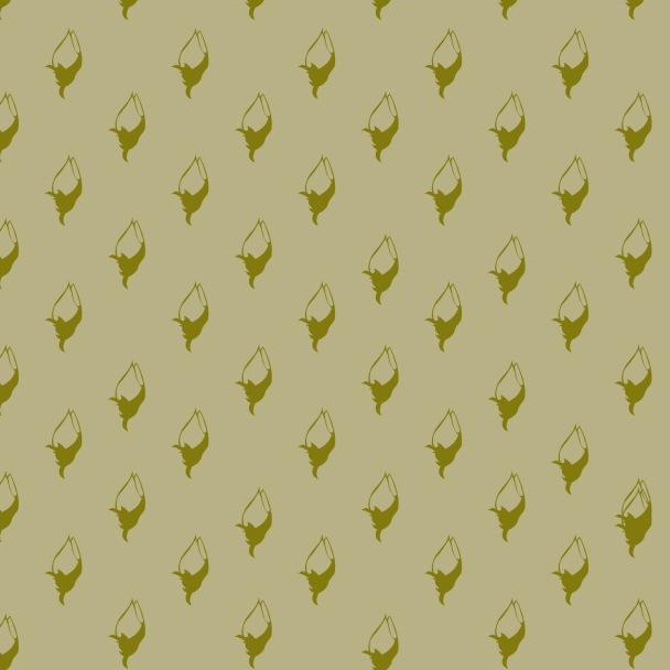 tulipes vertes sur fond vert