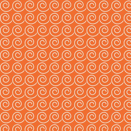 vaques blanches sur orange