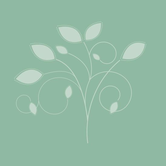 bouquet blanc sur vert