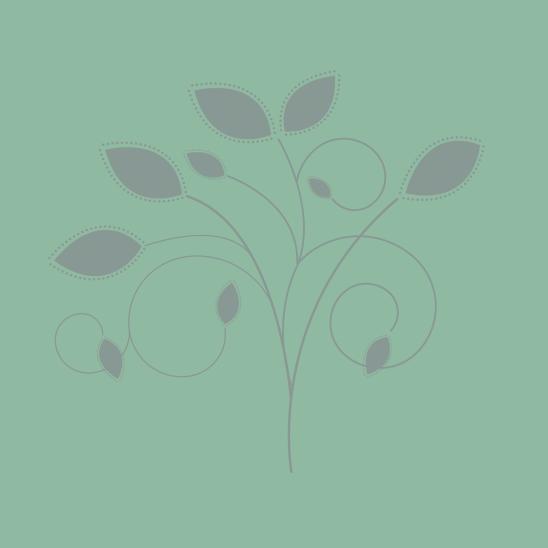 bouquet gris sur vert