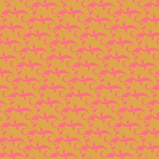 déco fushia sur jaune
