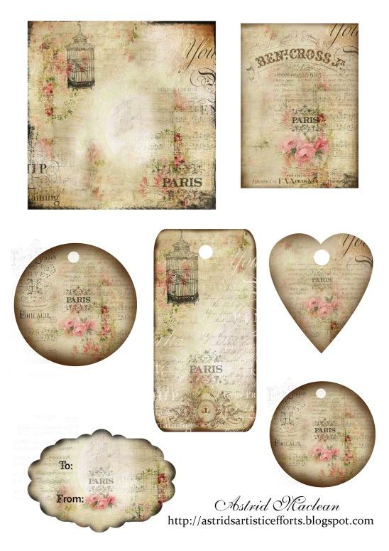 full collage sheet