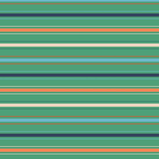 lignes sur vert